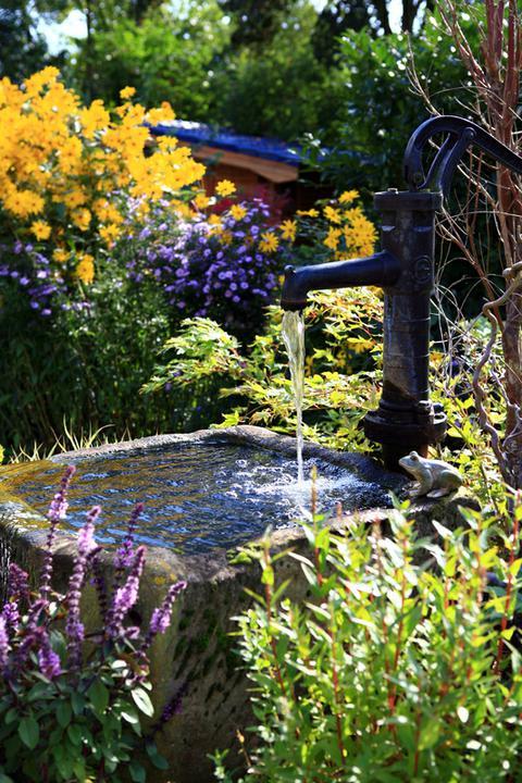 Voda v záhrade - živá voda dodá energiu