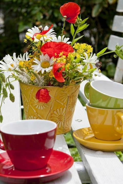 Dekorácie s lúčnymi kvetmi - Obrázok č. 6