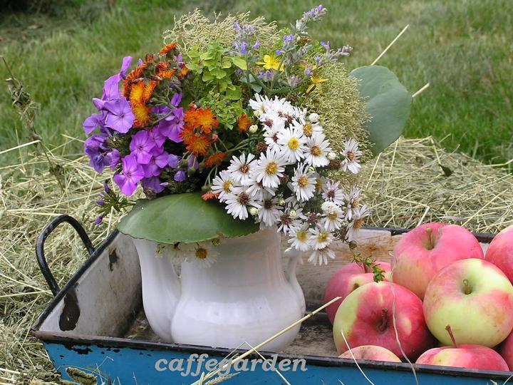 Dekorácie s lúčnymi kvetmi - Obrázok č. 24