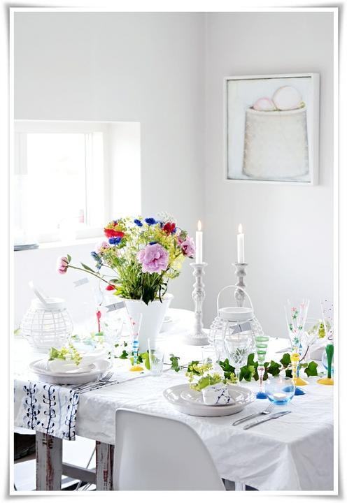 Dekorácie s lúčnymi kvetmi - Obrázok č. 80