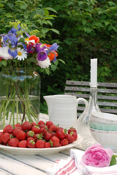 Dekorácie s lúčnymi kvetmi - Obrázok č. 84