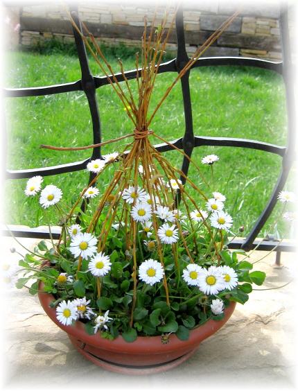 Dekorácie s lúčnymi kvetmi - Obrázok č. 86