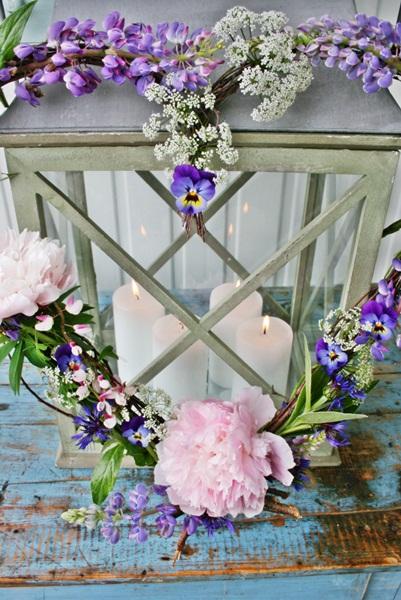 Dekorácie s lúčnymi kvetmi - Obrázok č. 100
