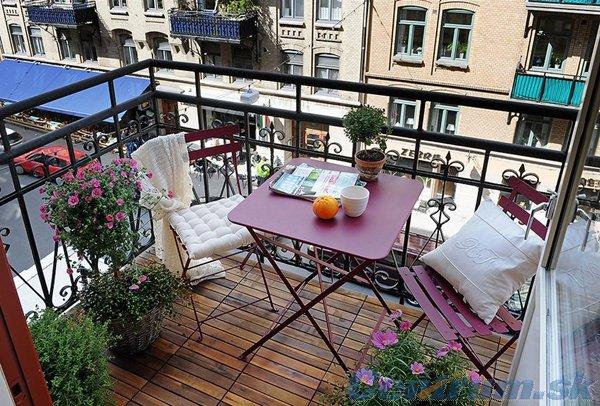 Balkonové a terasové zátišie - Obrázok č. 214