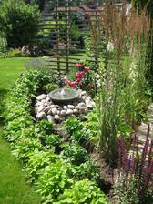 voda robí v záhrade zázraky
