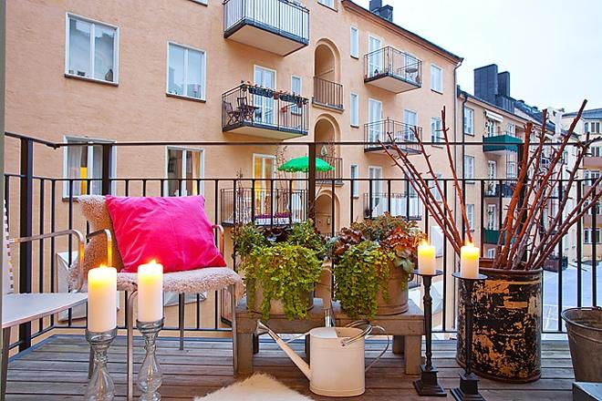 Balkonové a terasové zátišie - príjemná atmosféra