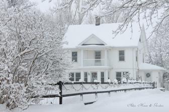 zima vo svojej nádhernej bielej