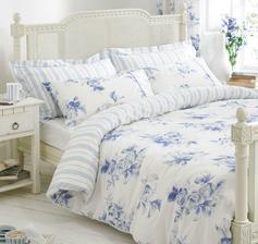 Studené farby v spálni sú stvorené na dokonalý relax a pokojné zaspávanie ...