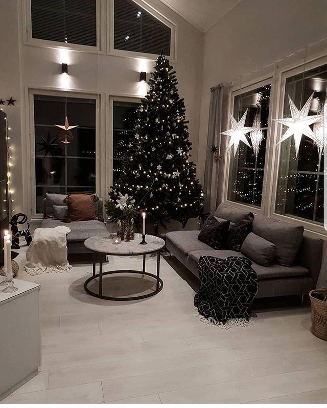 Škandinávsky interiér s vianočnou atmosférou - Obrázok č. 241