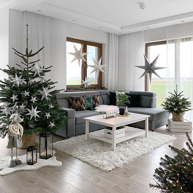 Škandinávsky interiér s vianočnou atmosférou - Obrázok č. 242