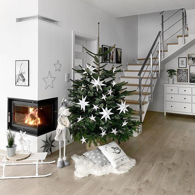 Škandinávsky interiér s vianočnou atmosférou - Obrázok č. 243