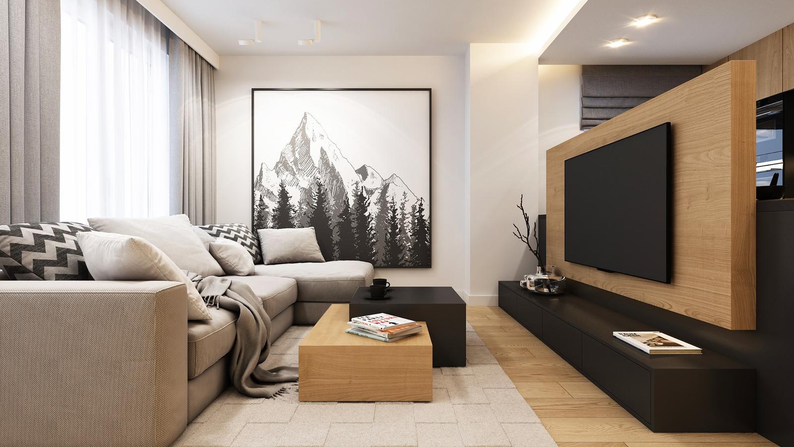 Moderné interiéry,v ktorých sa budete cítiť príjemne - Obrázok č. 71