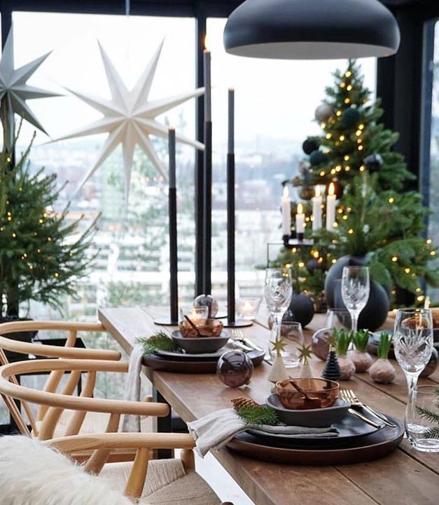 Škandinávsky interiér s vianočnou atmosférou - Obrázok č. 245