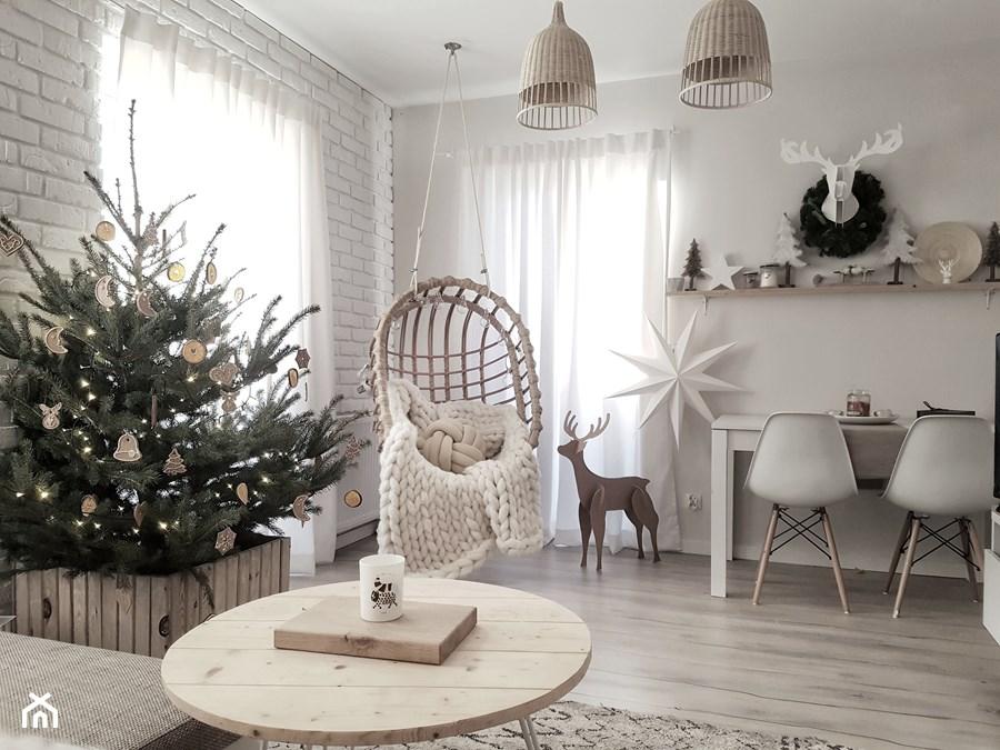 Škandinávsky interiér s vianočnou atmosférou - Obrázok č. 271