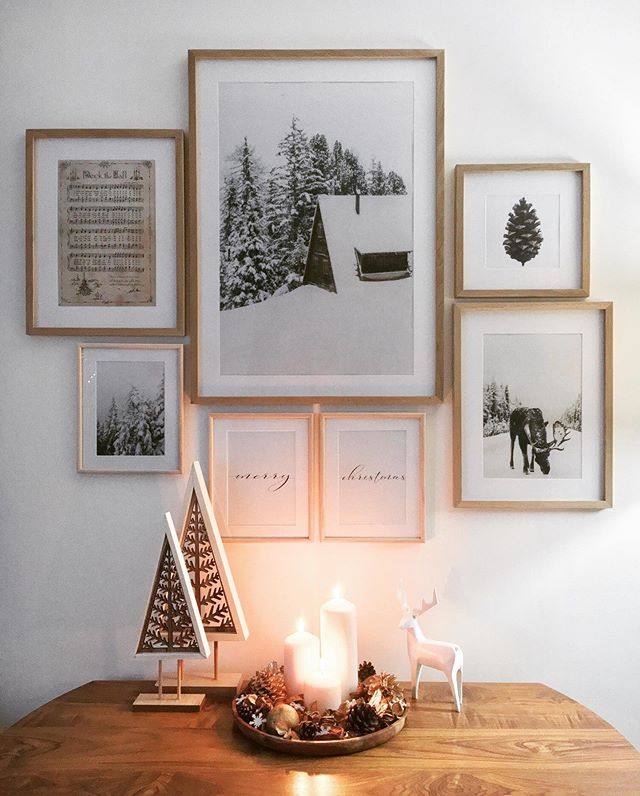 Škandinávsky interiér s vianočnou atmosférou - Obrázok č. 285