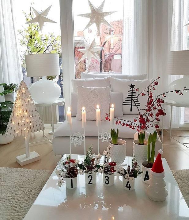 Škandinávsky interiér s vianočnou atmosférou - Obrázok č. 294