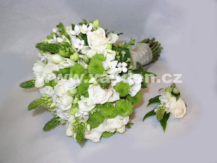 Svatební kytice - Obrázek č. 8