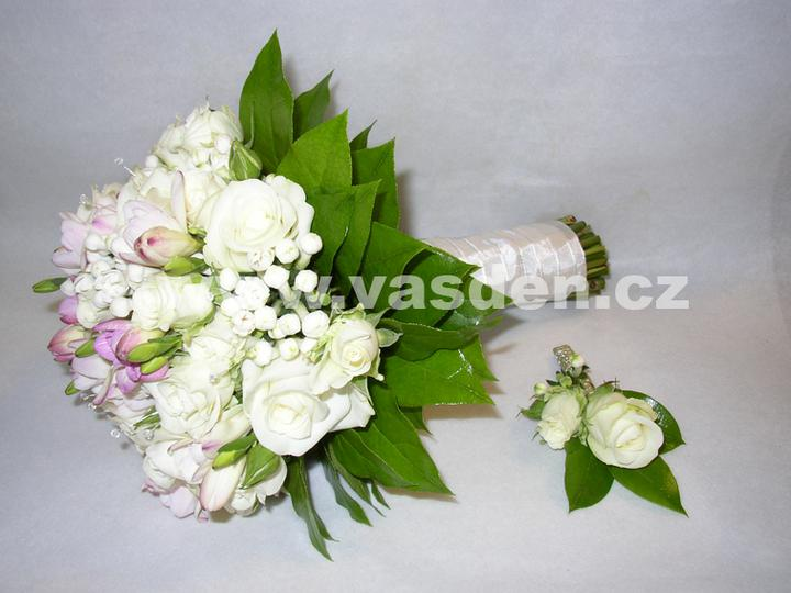 Svatební kytice - Obrázek č. 6
