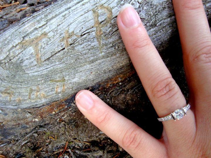 Co už máme ;-)))) - Zásnubní prstýnek