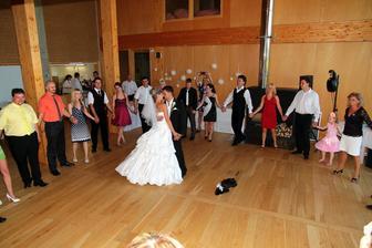 První svatební tanec.....