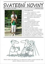 Svatební noviny .. tvořím  :-)
