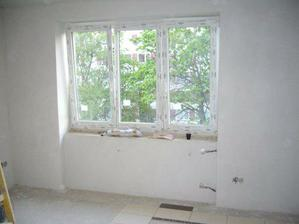 a dokončená obývačka...