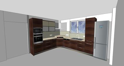 Naše budoucí kuchyň!