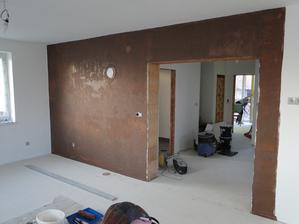 První vrstva, hnědý obývák