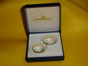 Naše snubní prsteny...