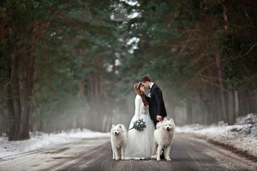 Námety na zimné svadobné fotenie - Obrázok č. 2