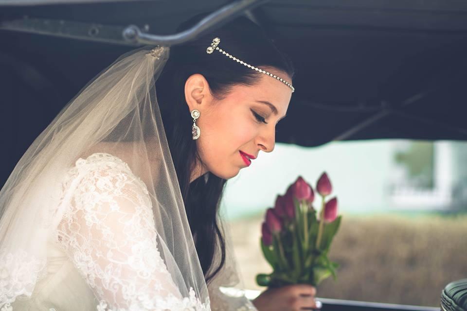 """marieedesign - """"Dobrý deň, ďakujem za nádherné doplnky, boli """"princeznovské"""" a krásne dopĺňali svadobný look. :) ... nech co najviac neviest ma take krasne sperky od vas! drzimpalce"""""""