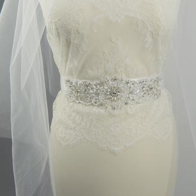 Nové handmade opasky na svadobné a spoločenské šaty :) - Obrázok č. 5