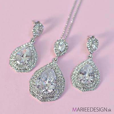 Sety šperkov: náhrdelník + náušnice SKLADOM :) - Obrázok č. 2