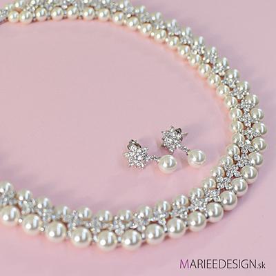 Sety šperkov: náhrdelník + náušnice SKLADOM :) - Obrázok č. 3