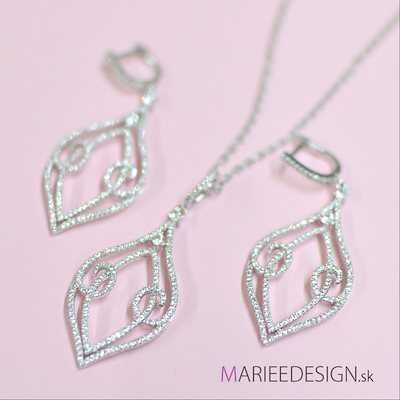 Sety šperkov: náhrdelník + náušnice SKLADOM :) - Obrázok č. 5