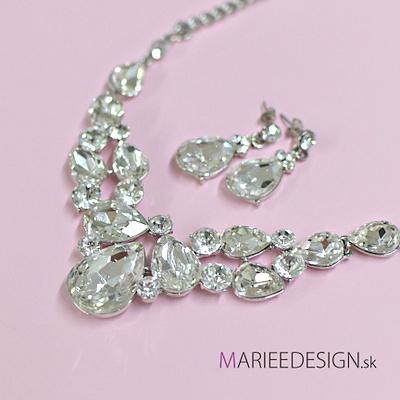 Sety šperkov: náhrdelník + náušnice SKLADOM :) - Obrázok č. 12