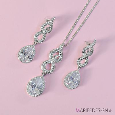 Sety šperkov: náhrdelník + náušnice SKLADOM :) - Obrázok č. 15