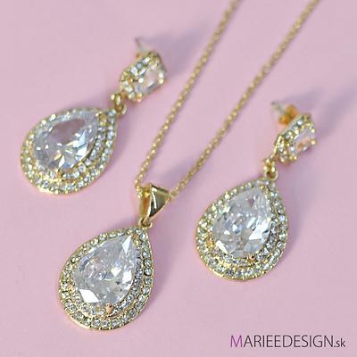 Sety šperkov: náhrdelník + náušnice SKLADOM :) - Obrázok č. 16