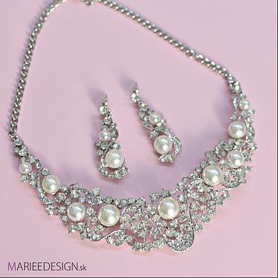Sety šperkov: náhrdelník + náušnice SKLADOM :) - Obrázok č. 18
