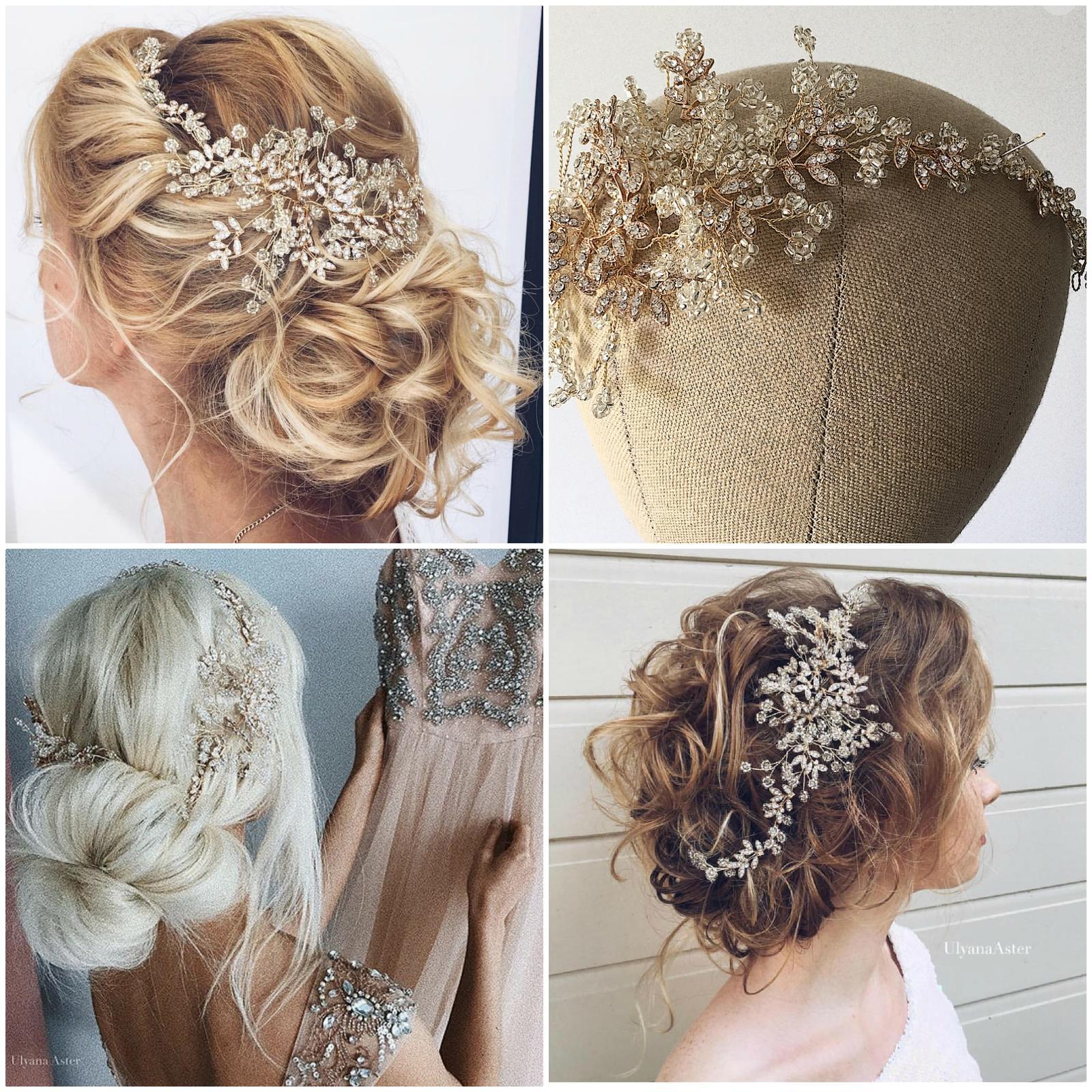 Luxusné ozdoby do vlasov MARIEE DESIGN - Obrázok č. 5