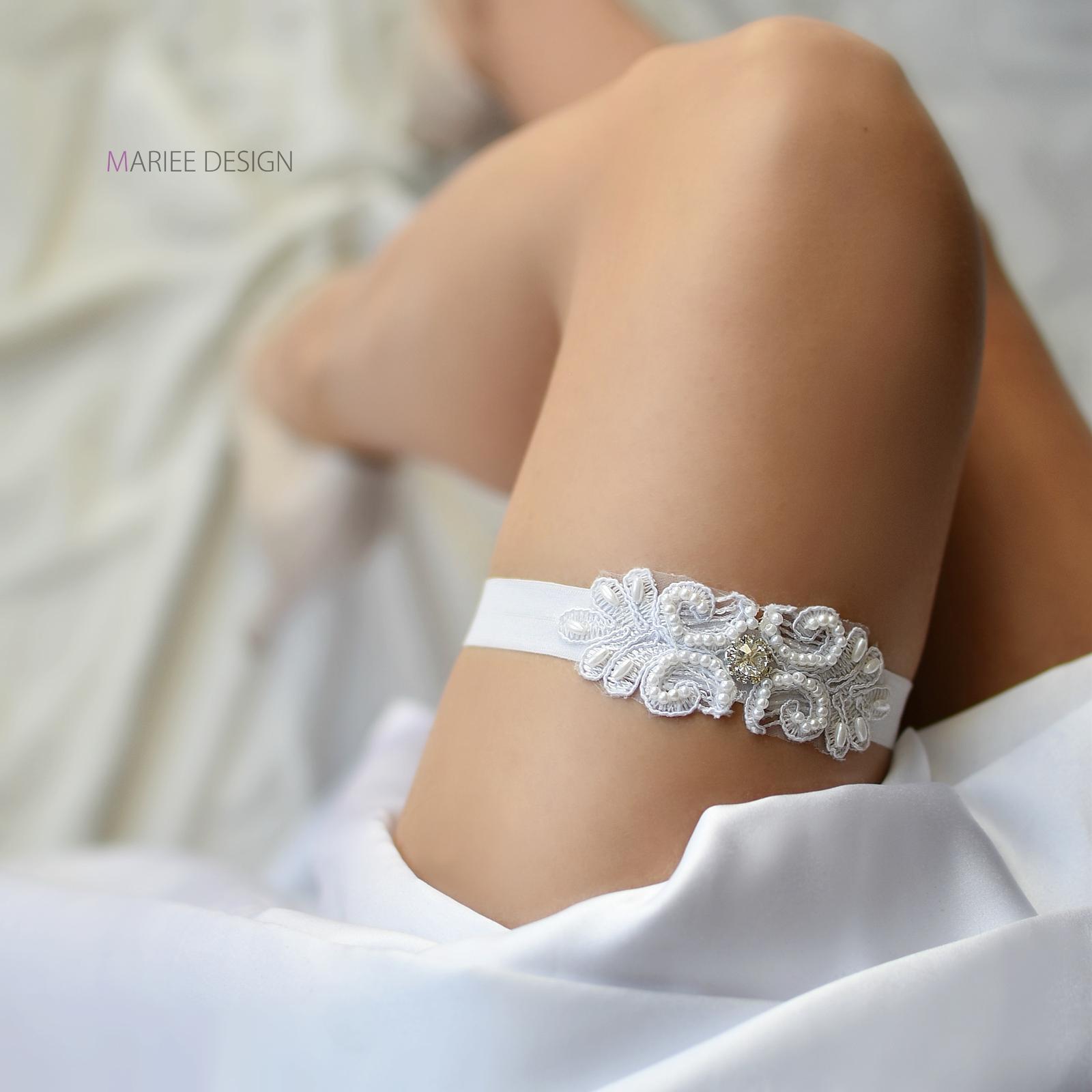 Luxusné svadobné podväzky - Obrázok č. 8