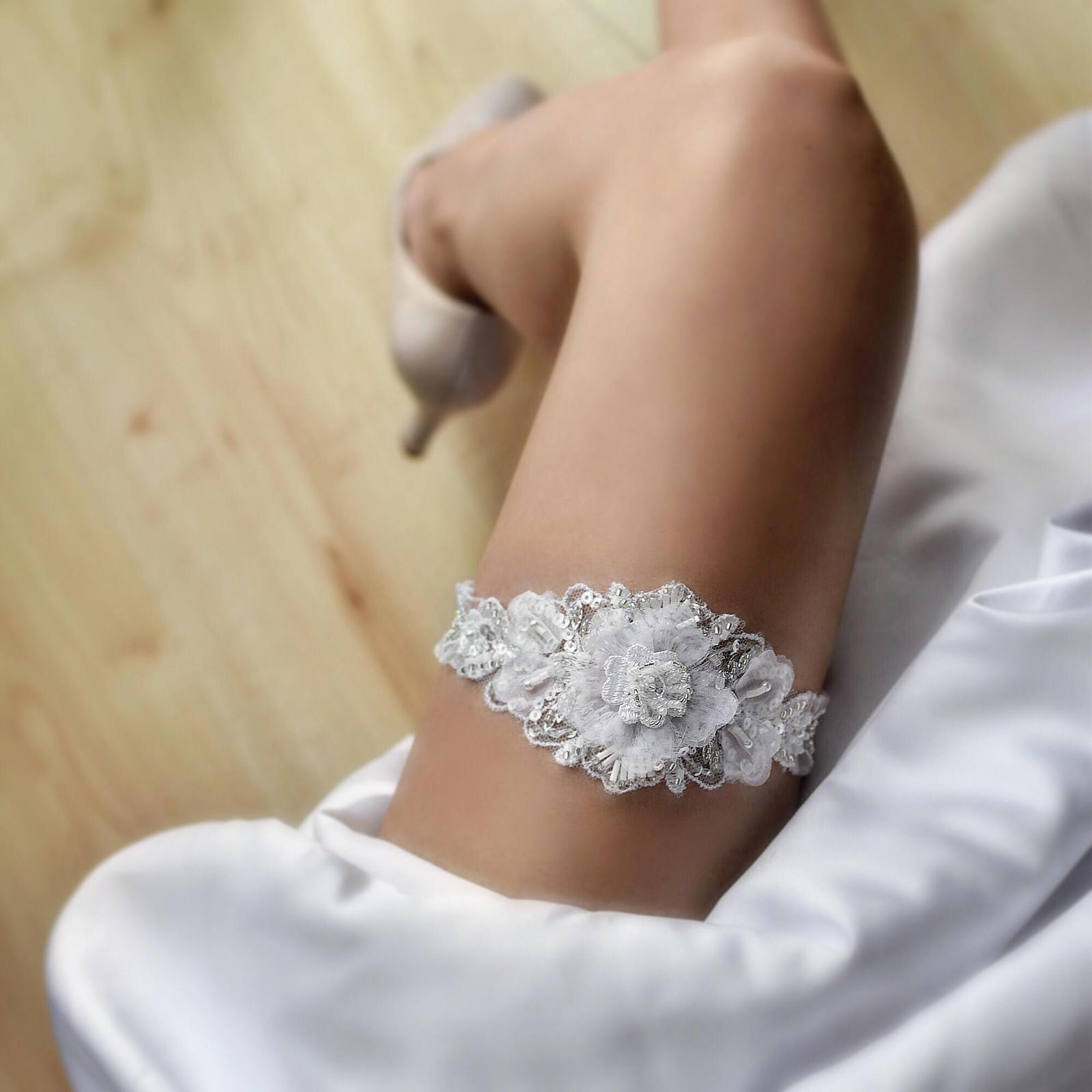 Luxusné svadobné podväzky - Obrázok č. 13
