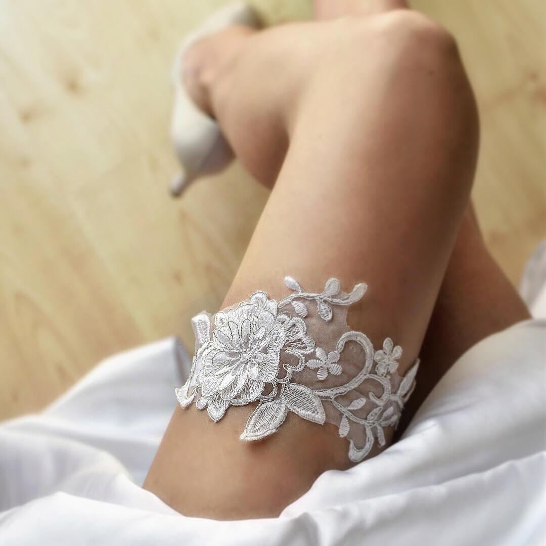 Luxusné svadobné podväzky - Obrázok č. 14
