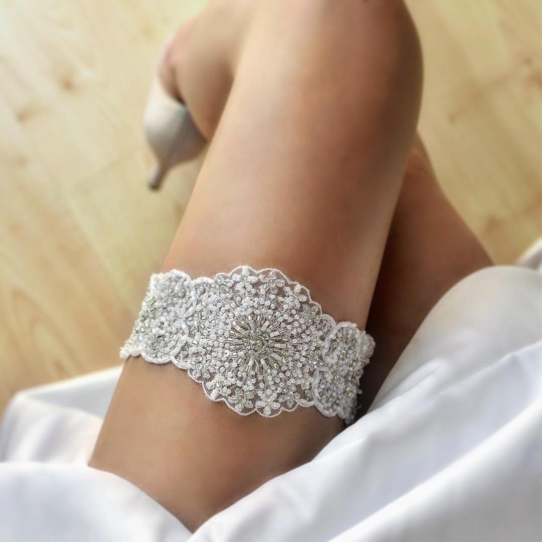 Luxusné svadobné podväzky - Obrázok č. 15