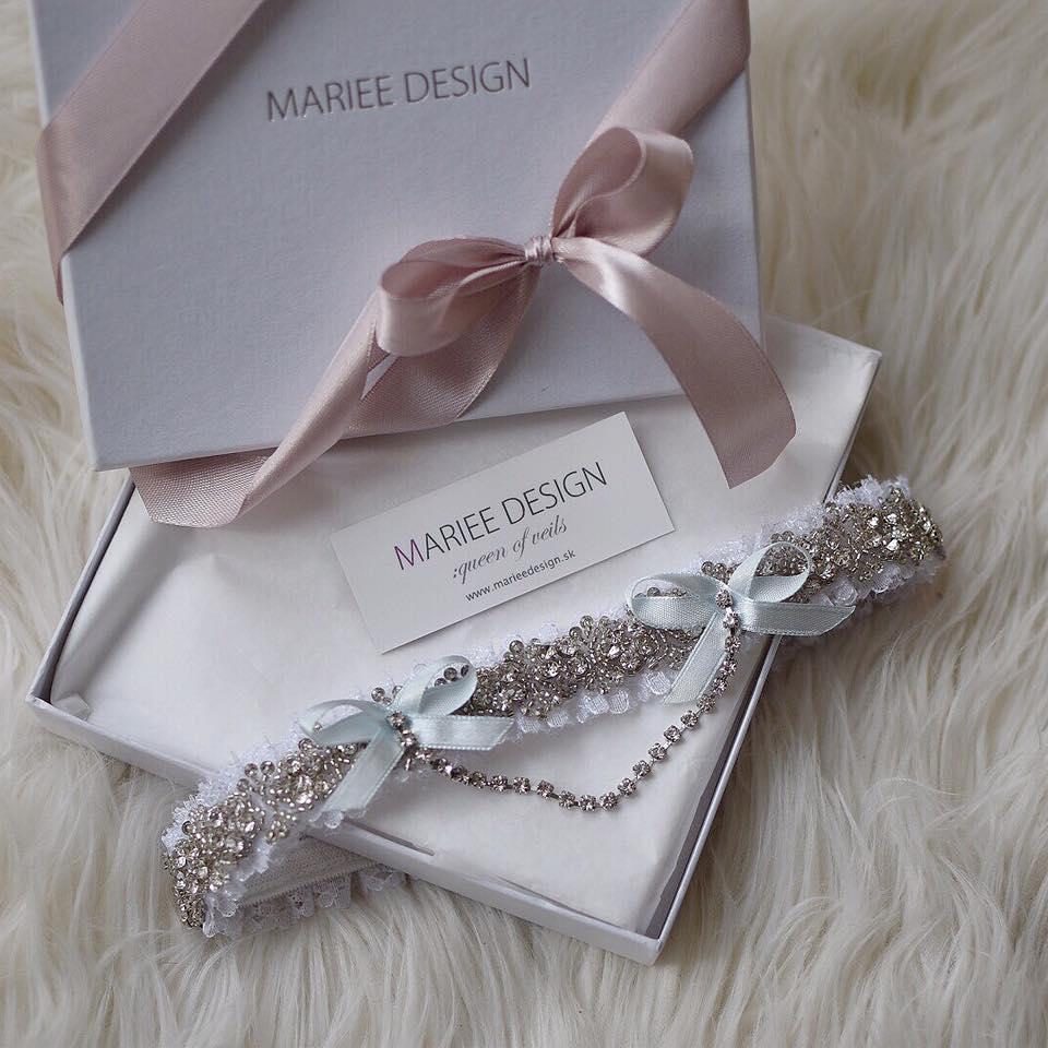 Najnovšie svadobné podväzky z dielne MARIEE DESIGN - Obrázok č. 10
