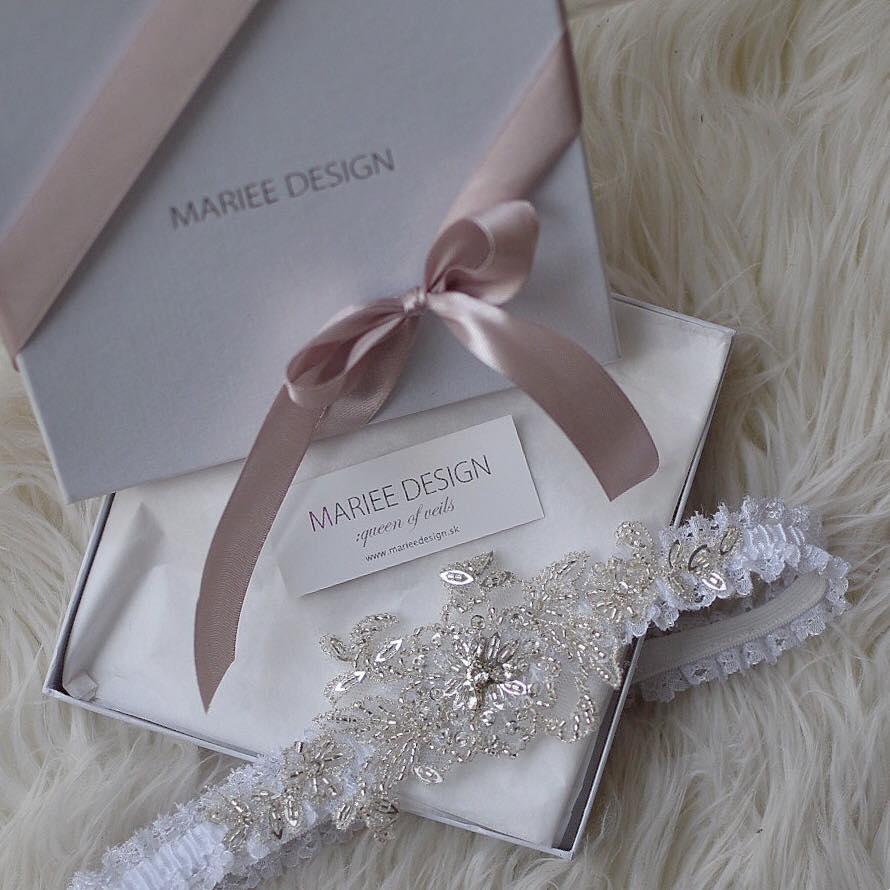 Najnovšie svadobné podväzky z dielne MARIEE DESIGN - Obrázok č. 15