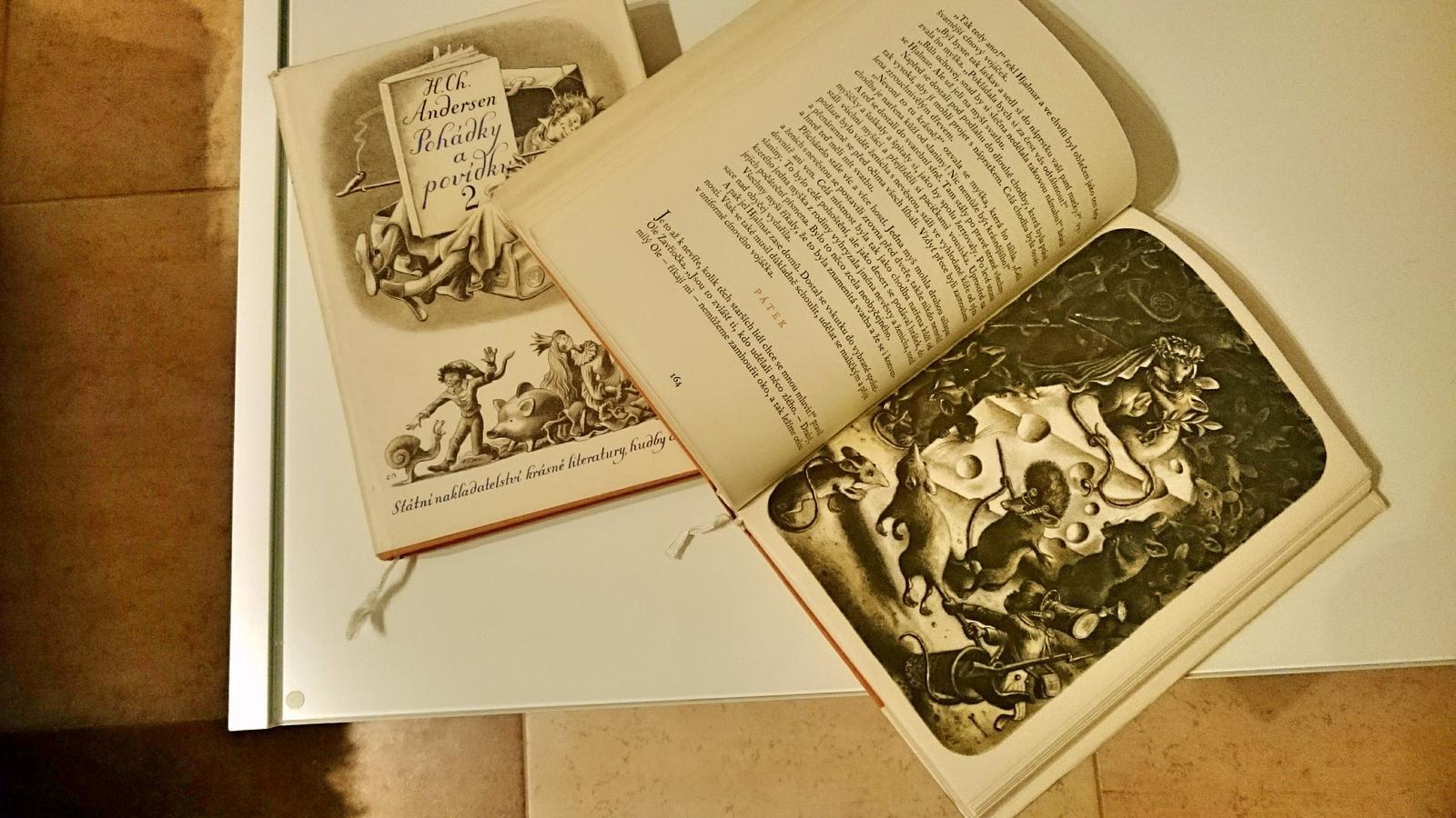 Čtení - Pohádky a povídky 1,2 jsou doma a v perfektním stavu :-)