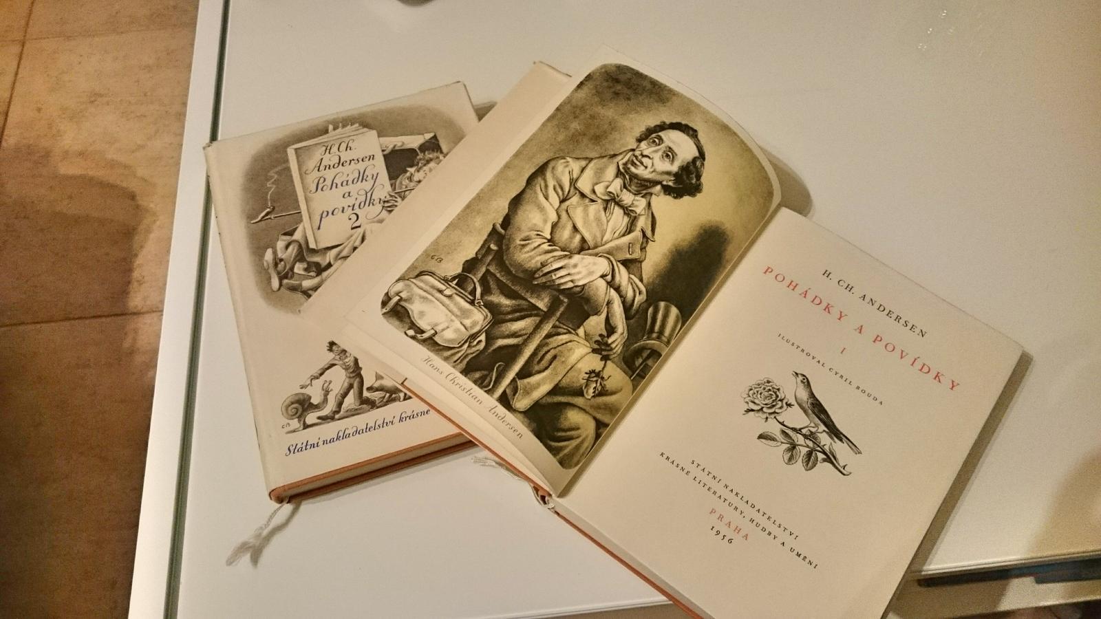 Čtení - Pohádky a povídky 1,2 jsou doma a v perfektním stavu :-) kdyz jsem to četla poprve, bylo mi dvanáct...zvláštní pocit...