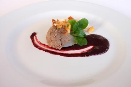 Degustační požitek - Kachní paté s portským vínem a podzimním ovocem