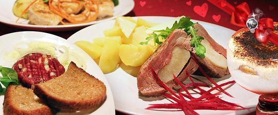 Kromě tataráku mi nic z toho menu nechutnalo:-( Poprvé v životě jsem šla z restaurace hladová